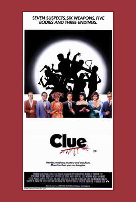Clue - 27 x 40 Movie Poster - Style B