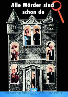 Clue - 27 x 40 Movie Poster - German Style A