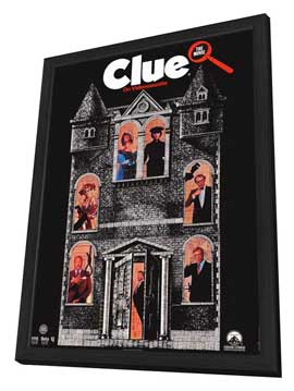 Clue - 11 x 17 Movie Poster - Style C - in Deluxe Wood Frame