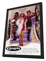 Clueless - 11 x 17 Movie Poster - Style A - in Deluxe Wood Frame