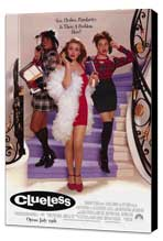 Clueless - 11 x 17 Movie Poster - Style A - Museum Wrapped Canvas