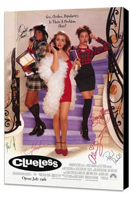 Clueless - 11 x 17 Movie Poster - Style B - Museum Wrapped Canvas