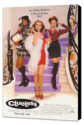 Clueless - 27 x 40 Movie Poster - Style A - Museum Wrapped Canvas