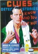 Clues Detective Stories (Pulp)