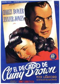Cluny Brown - 11 x 17 Movie Poster - Spanish Style A