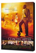 Coach Carter - 11 x 17 Movie Poster - Style A - Museum Wrapped Canvas