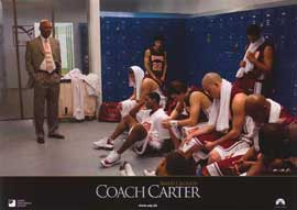 Coach Carter - 11 x 14 Poster German Style E