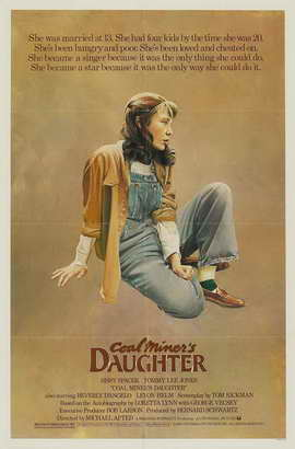 Coal Miner's Daughter - 11 x 17 Movie Poster - Style B