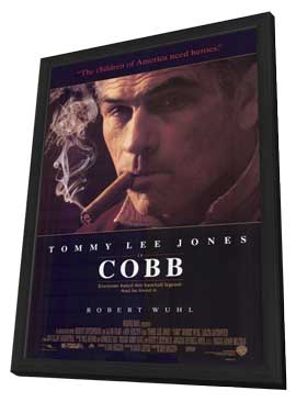 Cobb - 11 x 17 Movie Poster - Style A - in Deluxe Wood Frame