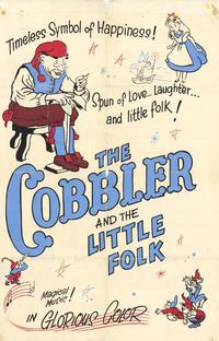 Cobbler and the Little Folk - 27 x 40 Movie Poster - Style A