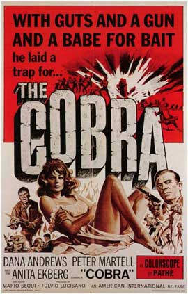 The Cobra - 11 x 17 Movie Poster - Style A