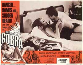 The Cobra - 11 x 14 Movie Poster - Style A