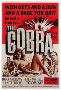 The Cobra - 27 x 40 Movie Poster - Style A