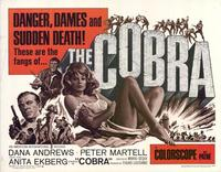 The Cobra - 22 x 28 Movie Poster - Half Sheet Style A