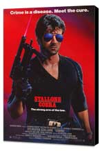 Cobra - 27 x 40 Movie Poster - Style A - Museum Wrapped Canvas