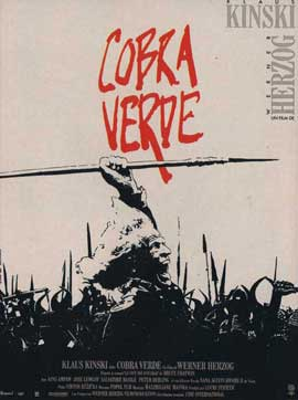 Cobra Verde - 11 x 17 Movie Poster - French Style A