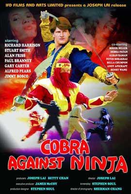 Cobra vs. Ninja - 11 x 17 Movie Poster - Style A