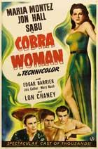 Cobra Woman - 27 x 40 Movie Poster - Style C