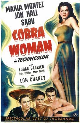 Cobra Woman - 11 x 17 Movie Poster - Style A