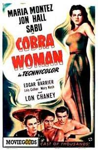 Cobra Woman - 43 x 62 Movie Poster - Bus Shelter Style A