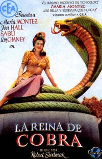 Cobra Woman - 27 x 40 Movie Poster - Spanish Style A