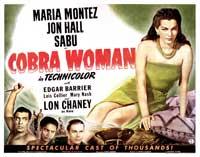 Cobra Woman - 11 x 17 Movie Poster - Style C