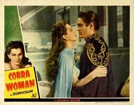 Cobra Woman - 11 x 14 Movie Poster - Style E