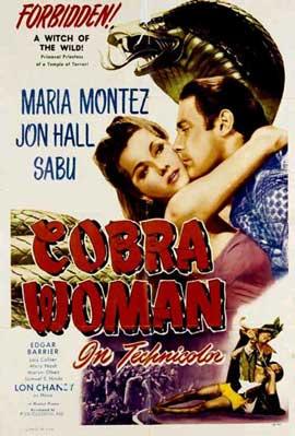 Cobra Woman - 11 x 17 Movie Poster - Style E