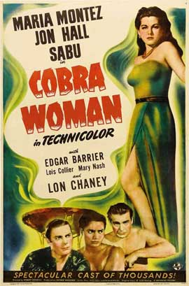 Cobra Woman - 11 x 17 Movie Poster - Style G