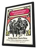 Cockeyed Cowboys of Calico County - 11 x 17 Movie Poster - Style A - in Deluxe Wood Frame