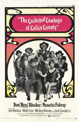 Cockeyed Cowboys of Calico County - 11 x 17 Movie Poster - Style A