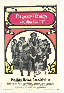 Cockeyed Cowboys of Calico County - 27 x 40 Movie Poster - Style A