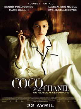 Coco Avant Chanel - 27 x 40 Movie Poster - French Style A