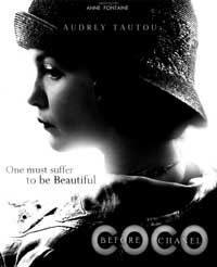 Coco Avant Chanel - 43 x 62 Movie Poster - Bus Shelter Style A