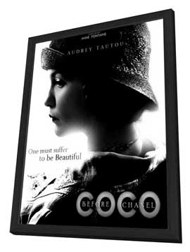 Coco Avant Chanel - 27 x 40 Movie Poster - Style A - in Deluxe Wood Frame