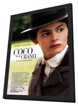 Coco Before Chanel - 11 x 17 Movie Poster - Style A - in Deluxe Wood Frame