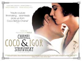 Coco Chanel & Igor Stravinsky - 11 x 17 Movie Poster - UK Style A