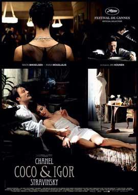 Coco Chanel & Igor Stravinsky - 27 x 40 Movie Poster - Style A