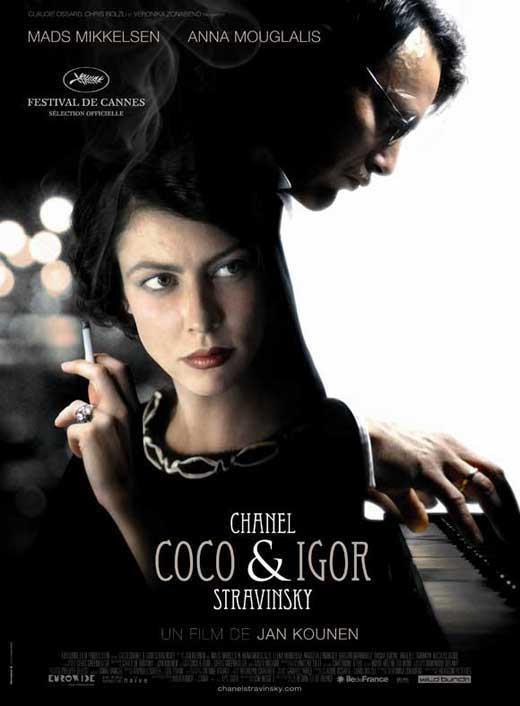 coco chanel amp igor stravinsky movie posters from movie