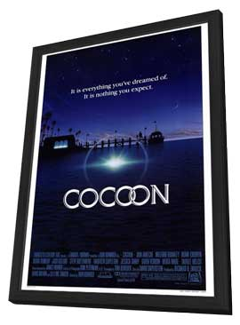Cocoon - 27 x 40 Movie Poster - Style A - in Deluxe Wood Frame