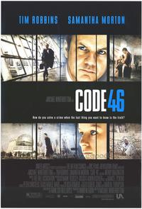 Code 46 - 43 x 62 Movie Poster - Bus Shelter Style A