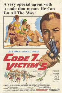 Code 7 Victim 5 - 11 x 17 Movie Poster - Style A