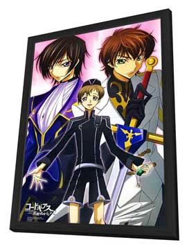 Code Geass: Lelouch of the Rebellion (TV) - 11 x 17 TV Poster - Japanese Style B - in Deluxe Wood Frame