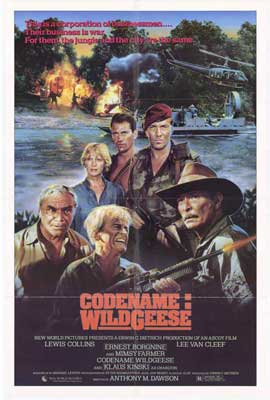 Codename: Wildgeese - 27 x 40 Movie Poster - Style A