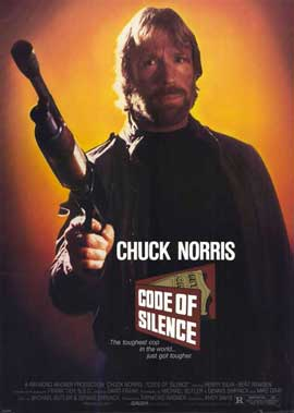 Code of Silence - 11 x 17 Movie Poster - Style A