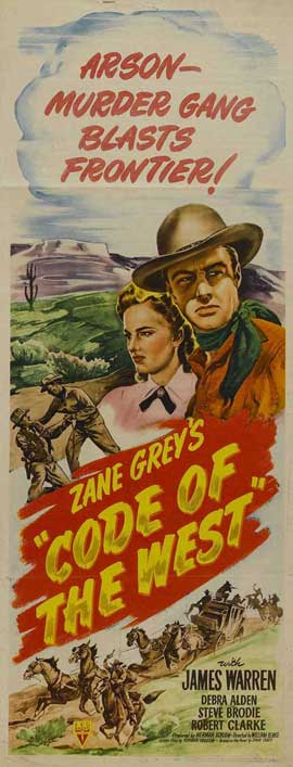 Code of the West - 14 x 36 Movie Poster - Insert Style A