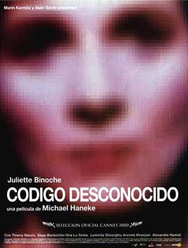 Code Unknown: Incomplete Tales of Several Journeys - 27 x 40 Movie Poster - Spanish Style A