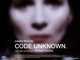 Code Unknown: Incomplete Tales of Several Journeys - 30 x 40 Movie Poster UK - Style B