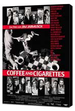 Coffee and Cigarettes - 27 x 40 Movie Poster - German Style A - Museum Wrapped Canvas