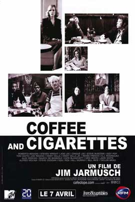 Coffee and Cigarettes - 11 x 17 Movie Poster - French Style A